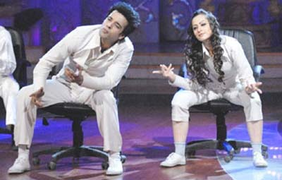 Aamir and Sanjeeda