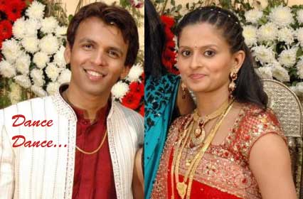 Abhijeet Sawant Gets Wife Shilpa on Nach Baliye4