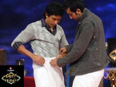 Ranbir Kapoor Towel dance