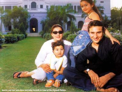 saif ali khan wife+saif ali khan children