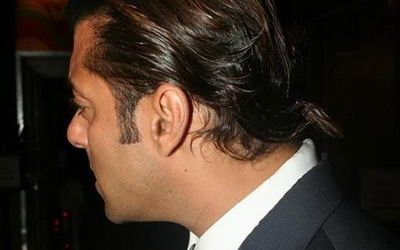 Salman Khan Pony Tail