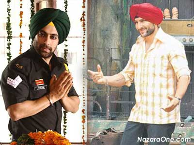 Salman & Saif in Sardar Look