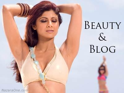 Shilpa shetty official blog