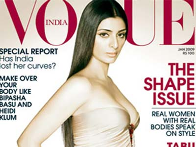 Tabu on Vogue