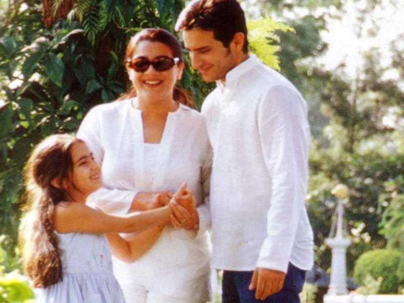 Vintage Shots: Saif , Amrita & Family | 902716 | Bollywood ... Saif Ali Khan Wife And Kids